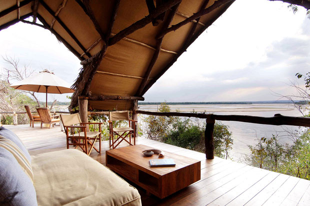 African Safari Glamping At Sand Rivers Selous In Tanzania